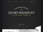 Champagne Signature, Lecart Bousselet, Céleste Brut et Rosé, Grande Marque et Maison de Champagn...