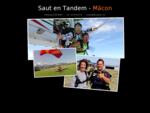 Réalisez votre rêve  sautez en parachute (en tandem) à Mâcon (Bourgogne du Sud) avec un moniteu...