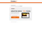 Domena 01manufacture. pl jest utrzymywana na serwerach nazwa. pl