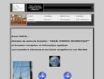 01psi est le portail web pédagogique de Pascal Synergie Informatique. Ce site invite l'internaut...