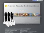 Agence Ardèche Sud Immobilier - Agence immobilière Aubenas