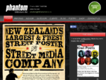 New Zealand039;s leading street poster company | Phantom Billstickers