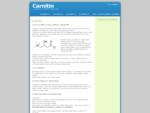 Carnitin - vše, co chcete o carnitinu vìdìt na 1-carnitin. cz | Carnitin a vše o nìm.