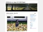 1000birds. se vägen till 1000 fåglar.