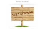 Servicio desactivado