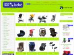 A 100 Bebé é uma loja com mobiliário de bebé, quartos de bebé, cadeiras auto, carrinhos de bebé,