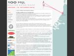 100 MIJL DOUBLEHANDED RACE - VRIJDAG 12 SEPTEMBER 2014 - BRUINE BANK RACE