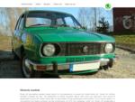 Strona o zielonej Skodzie 105 S