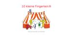 10 kleine Fingerlein