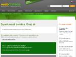 Ste majiteľom tejto domény Objednajte si k nej webhosting. Zaparkovaná doména 10naj. sk
