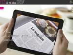 Plateforme de publication numérique webzine