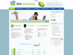 Webhosting en domeinnamen - 123-webhost duizenden tevreden klanten sinds 2003!