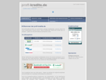 Kreditvergleich - günstige Kredite - Kredit - Profi-Kredite. de