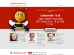 123hjemmeside - enkel hjemmesidebygger