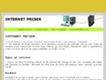 Internet priser - Guide til priser på internet