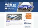 Building, Trade Home Improvements Mitre 10 | Sunshine Coast
