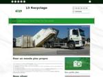 13 Recyclage - Déchets industriels (collecte, recyclage, valorisation) situé à Vitrolles vous ac...
