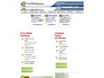 Free Web Hosting, Free Website Builder, Make a Website