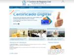 1° Cartório de Registro Civil de São Bernardo do Campo - SP Início