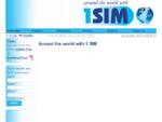 1SIM SIM Card – No Roaming – Free Incoming Calls