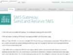 Send or Receive an SMS