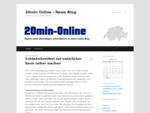 20min Online – News Blog | 20 Minuten online Blog | Schweiz