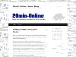 20min Online – News Blog | Der 20 Minuten Online Blog | Täglich aktuelle News und Trends 821