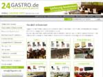 Gastromöbel | Gastronomiemöbel wie Gastronomie Stühle, Tische und Loungemöbel | Eckbank