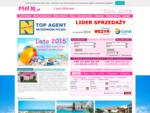 Biuro Podró¿y MAX oferty first i last minute na wakacje, bilety autokarowe i lotnicze, oferty dla