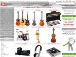 hudobné nástroje, hudobniny