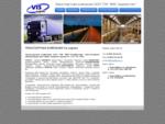 Сайт транспортной компании Вис лоджистик