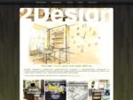 2Design - это команда профессиональных дизайнеров и художников, специалистов в области интерьера.