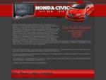 Montaż radia 2din Honda Civic VIII Ufo