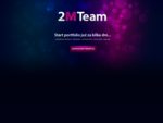 2MTeam - identyfikacja wizualna webdesign animacja flash strony www aplikacje