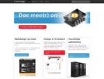 Webdesign, grafisch design, webhosting, online reclame. Uniek en professioneel met een uitsteken