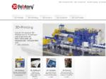3D-fabtory | Home | Wir bieten 3D-Printer, ZPrinter, FELIXprinter, 3D-Printing, Rapid-Prototyp