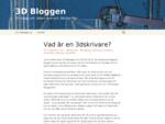 3D Bloggen | En blogg om 3dskrivare och 3dutskrifter