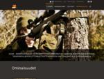 Ominaisuudet   3HGR ampumatuet ja valjaat   Treaper Oy