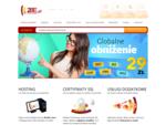 Wszystko dla Twojej strony www rejestracja domen . pl, domeny . eu i domeny narodowe. Bezpieczny h