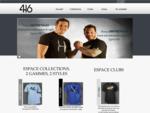 416 est une marque de vàªtement de Thomas et Fabien Domingo pour tous les jours ainsi qu'une gam...