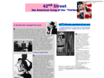 42nd street - Home page