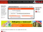 byty na predaj, domy, nehnuteľnosti | Realitná kancelária 4Sale Košice
