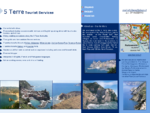 5 Terre, Cinque Terre, tourist services Transfer, minivan car rental with driver, hiking walking ...