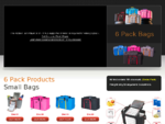 Six Pack Bag - Meal Management Fitness Bags