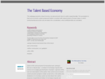 A blog about a resource based economy Giving and usership instead of trading and ownership. Enh...
