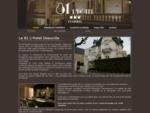 81 Hotel Deauville - Boutique hotel de charme à Deauville en Normandie