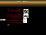 A-16 Auto - Used Auto Parts - Used Car Parts - Used Truck Parts - Auto Recycling - Auto Wrecking
