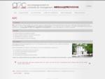 Le cabinet A2C situé en Avignon, propose ses activités de bilan de compétences, conseil en re...