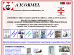 BEM-VINDO À A ICORMEL - Comércio e Indústria de Equipamentos Médicos, Lda