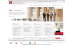 A-office Homepage, Rent an Office, Book a Meeting Room, Opt for Virtual Office, Select ...